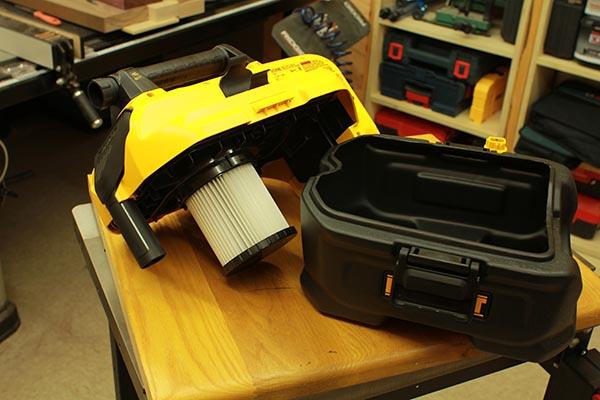 Dewalt Dcv580 Vacuum Container Tool Box Buzz Tool Box Buzz
