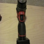 Milwaukee M12 Fuel front of drill