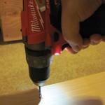 Milwaukee M12 Fuel led lights work area