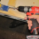 Milwaukee M12 Fuel drilling pocket holes