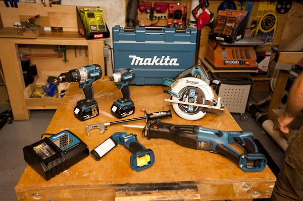 makita 18 volt tool kits