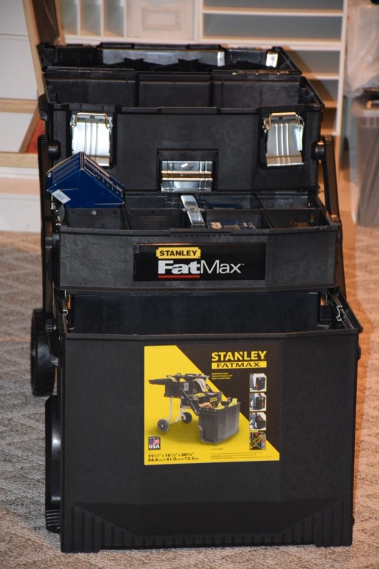 Stanley Fatmax Mobile Work Station Model 020800r Tool