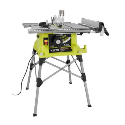 Ryobi 10 Portable Table Saw With Quick Stand Rts21g