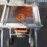 Rigid 10 Wet Tile Saw With Gravity Rise Stand 4091