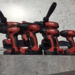 World of Concrete 2016 Hilti drills