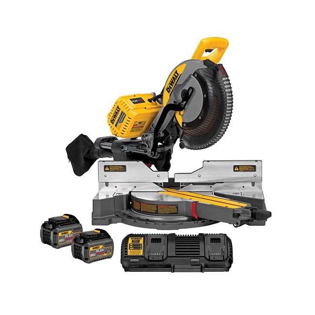 DEWALT FLEXVOLT™ 12 Inch 120V Miter Saw Review - Tool Box Buzz