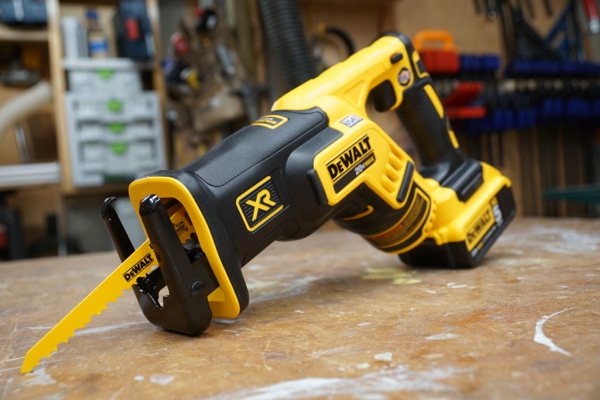 The dewalt xr compact reciprocating saw dcs367p1 tool box buzz its the cordless little brother to the dewalt dwe357 compact reciprocating saw which reviewed a few years back and we were excited to see if it was as greentooth Image collections