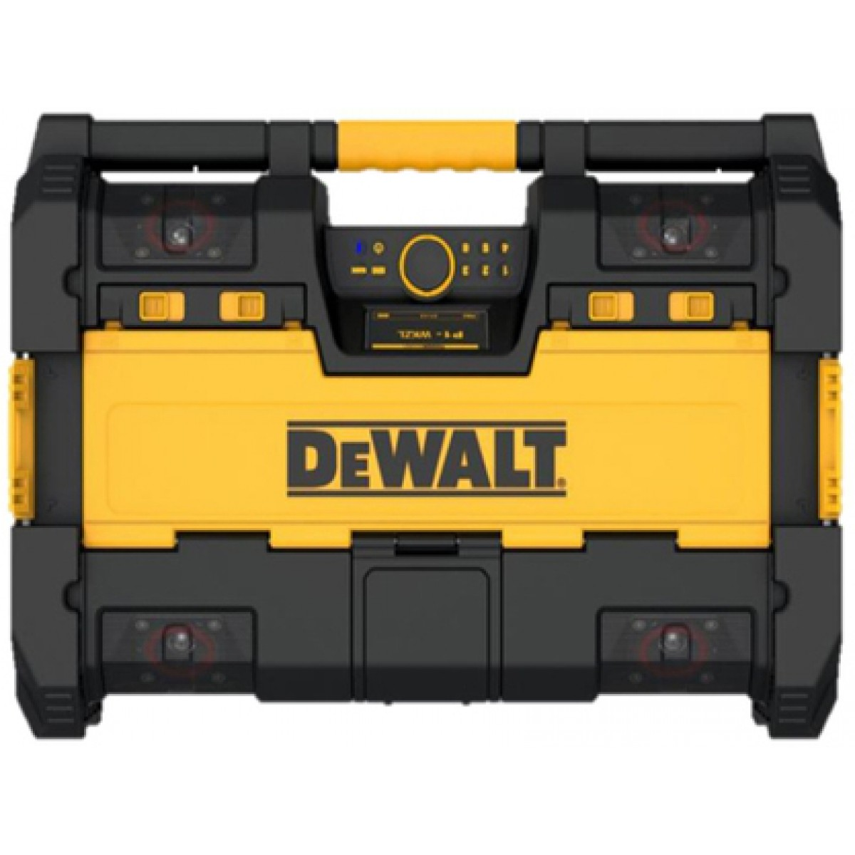 Dewalt ToughSystem Radio and Charger DWST08810 - Tool Box Buzz