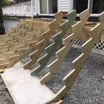 stair stringer deck