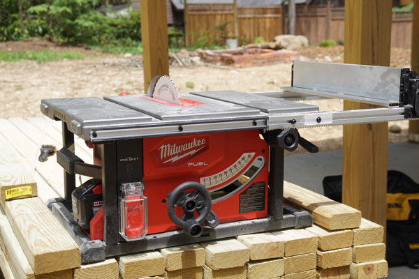 Milwaukee M18 FUEL Cordless Table Saw Giveaway