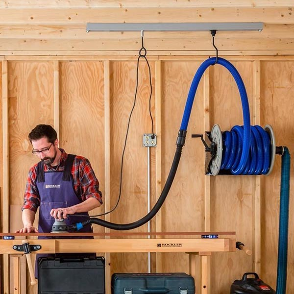 Retractable Extension Cord >> New Rockler Ceiling Track System - Tool Box Buzz Tool Box Buzz