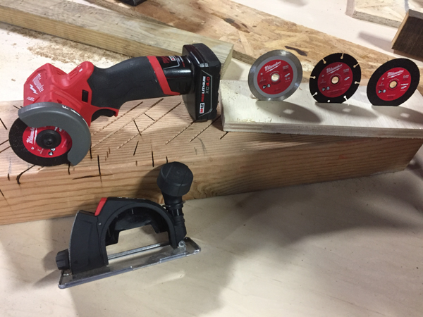 Milwaukee Compact Cut Off Tool -2