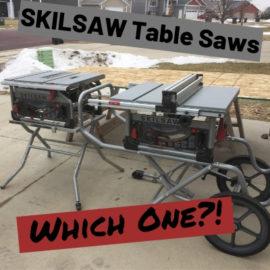 Skilsaw Table Saw -1