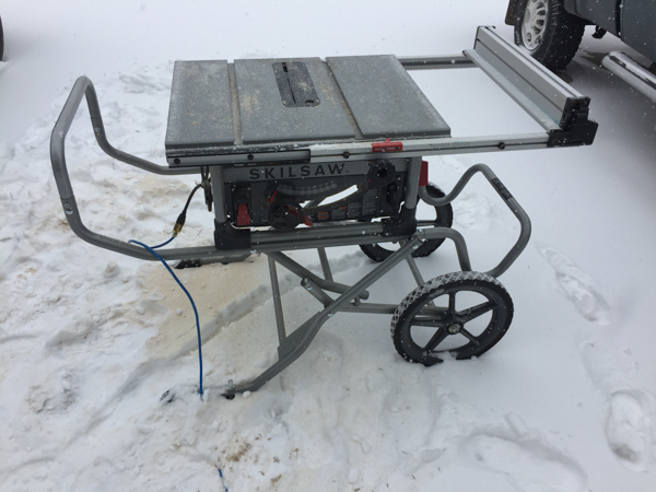 Skilsaw Table Saw -4