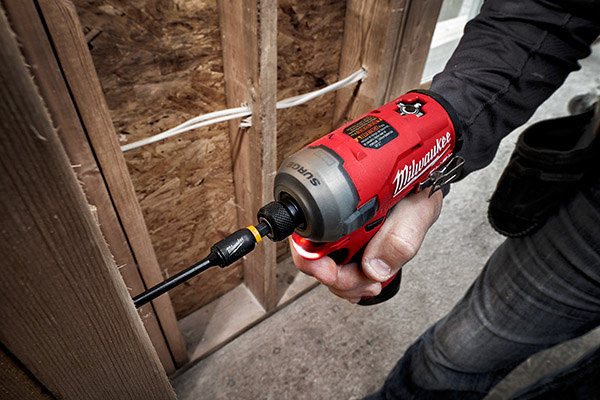 Milwaukee M12 Surge -wood framing