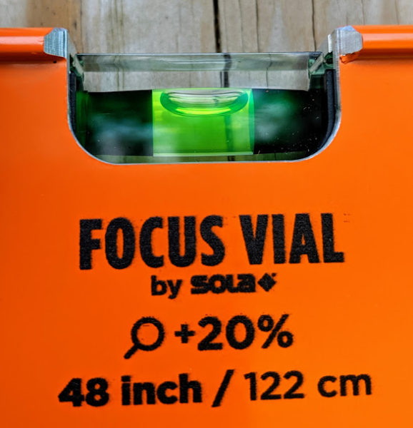 Kesson Level Focus Vial