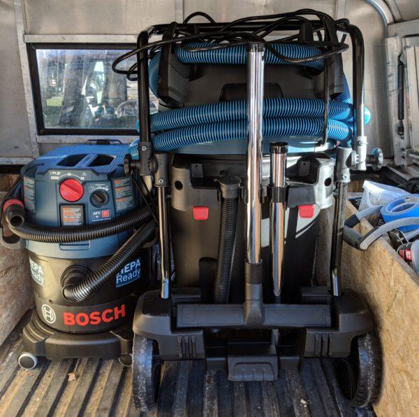 Bosch Dust Extractor GAS20-17AH vs BOSCH VAC090AH