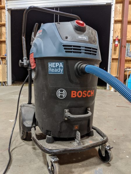 Bosch Dust Extractor GAS20-17AH on the job!