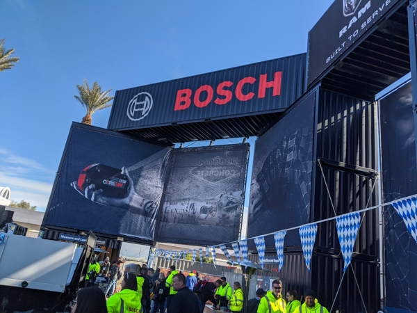 Bosch Tools Booth