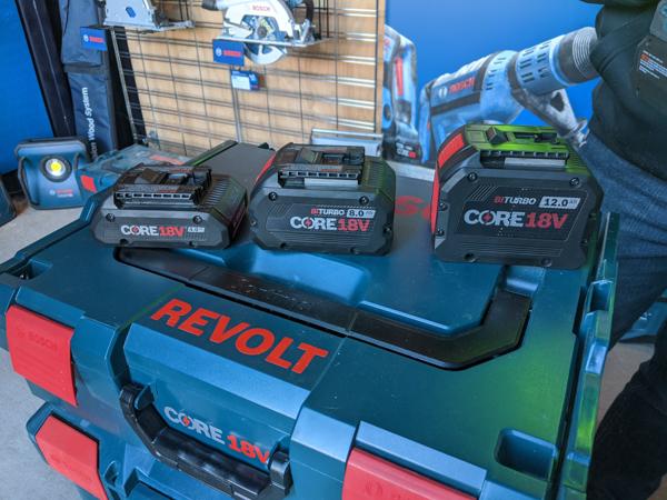 Bosch Tools Core Batteries