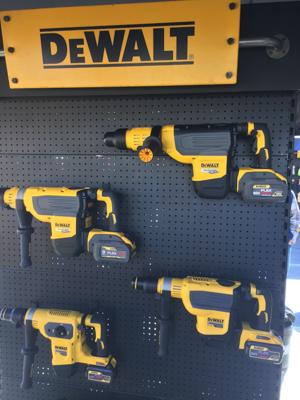 Dewalt Tools WOC2020 SDS Max Lineup