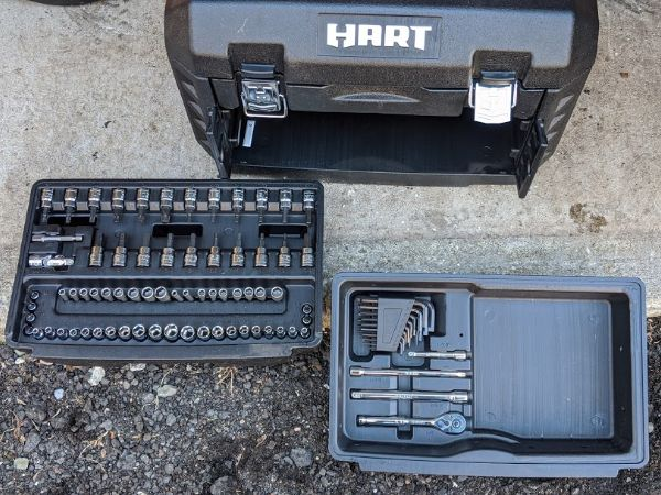 HART Tools Mechanics Set