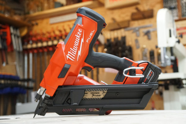 Milwaukee Cordless Framing Nailer