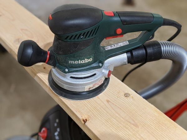 Metabo SXE 450 TurboTec Sander Review