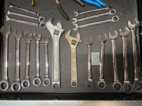 2020 Holiday Tool Gift Guide - Gearwrench 20 pc SAE/Metric ratcheting wrench set