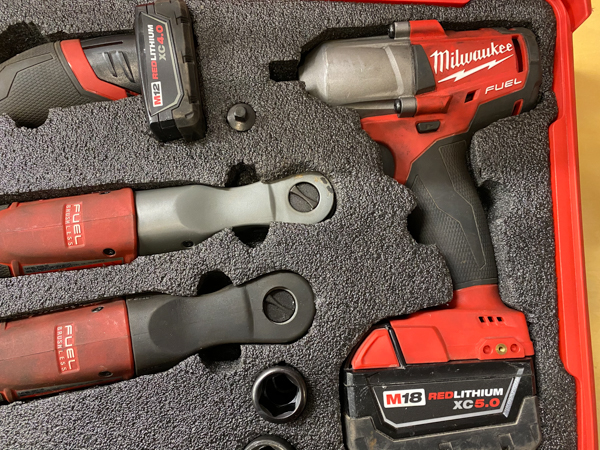 2020 Holiday Tool Gift Guide - Milwaukee Mid Torque Impact Wrench