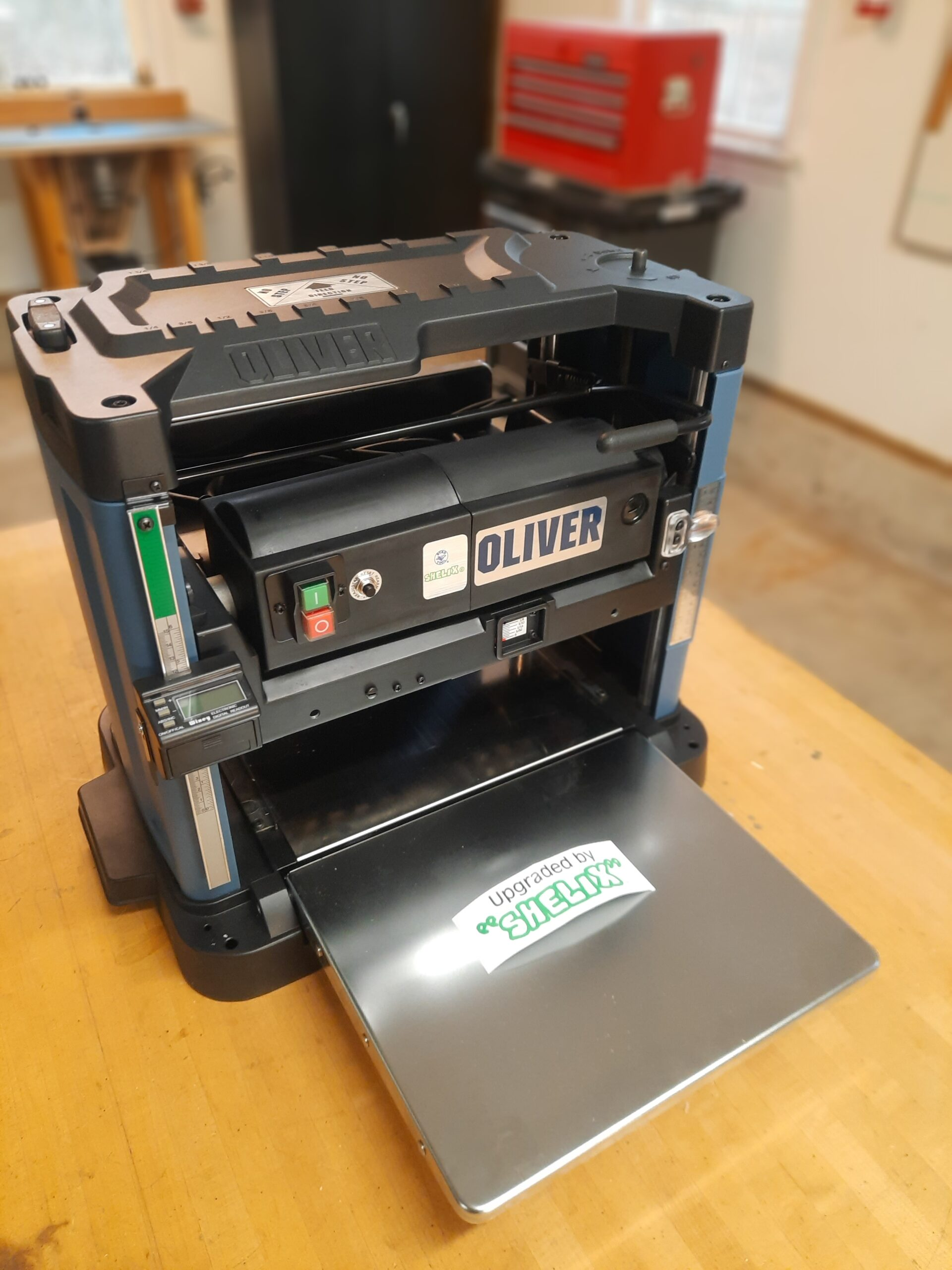 Oliver Machinery 12 5 Planer With Shelix Cutterhead Model 10044 Review Tool Box Buzz