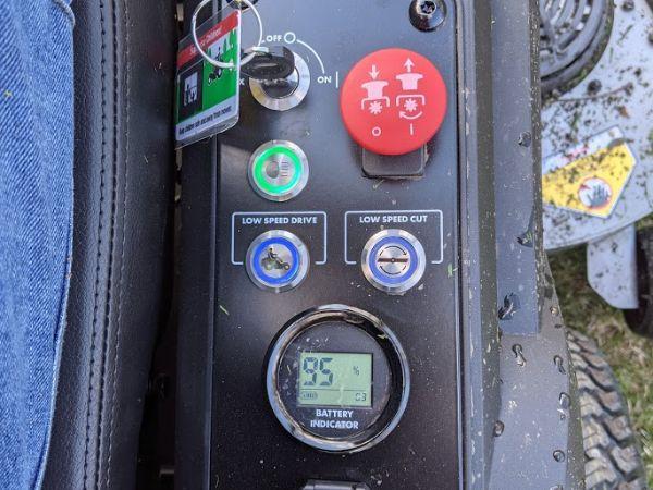 Ryobi Control Panel